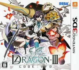 【中古】セブンスドラゴン3 code:VFDソフト:ニンテンドー3DSソフト/ロールプレイング・ゲーム