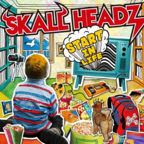 【中古】START IN LIFE/SKALL HEADZCDアルバム/邦楽