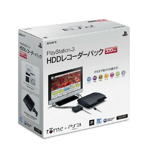 【中古】PlayStation3 HDDレコーダーパック(torne(トルネ)同梱版)(320GB) CEJH−10017 (同梱版)プレイステーション3 ゲーム機本体