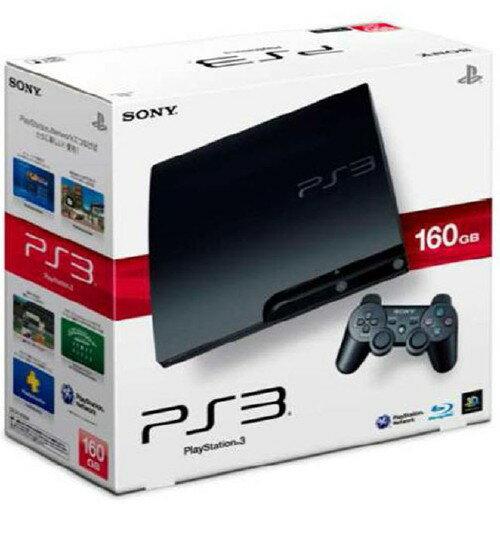 【中古】PlayStation3 HDD 160GB CECH−3000A チャコール・ブラックプレイステーション3 ゲーム機本体