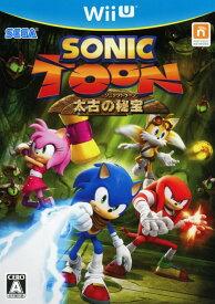 【中古】ソニックトゥーン 太古の秘宝ソフト:WiiUソフト/アクション・ゲーム