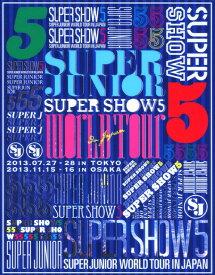 【中古】初限)SUPER JUNIOR WORL…SHOW 5 in JAPAN 【ブルーレイ】/SUPER JUNIORブルーレイ/映像その他音楽