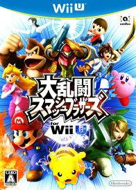【中古】大乱闘スマッシュブラザーズ for Wii Uソフト:WiiUソフト/任天堂キャラクター・ゲーム