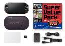 【中古・箱説あり・付属品あり・傷なし】PlayStation Vita Super Value Pack Wi−Fiモデル PCHJ−10018 レッド/ブラ…