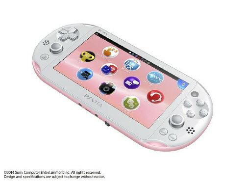【中古】PlayStation Vita Wi−Fiモデル PCH−2000ZA19 ライトピンク/ホワイト