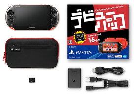 【中古・箱説あり・付属品あり・傷なし】PlayStation Vita デビューパック Wi−Fiモデル ブルー/ブラック (付属品の付属は無し)PSVita ゲーム機本体