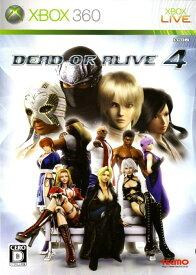 【中古】DEAD OR ALIVE4ソフト:Xbox360ソフト/アクション・ゲーム