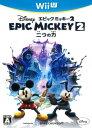 【中古】ディズニー エピックミッキー2:二つの力ソフト:WiiUソフト/マンガアニメ・ゲーム