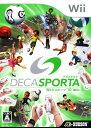 【中古】DECA SPORTA Wiiでスポーツ10種目!ソフト:Wiiソフト/スポーツ・ゲーム