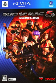 【中古】DEAD OR ALIVE5 Plus コレクターズエディション (限定版)ソフト:PSVitaソフト/アクション・ゲーム