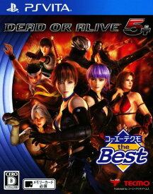 【中古】DEAD OR ALIVE5 Plus コーエーテクモ the Bestソフト:PSVitaソフト/アクション・ゲーム