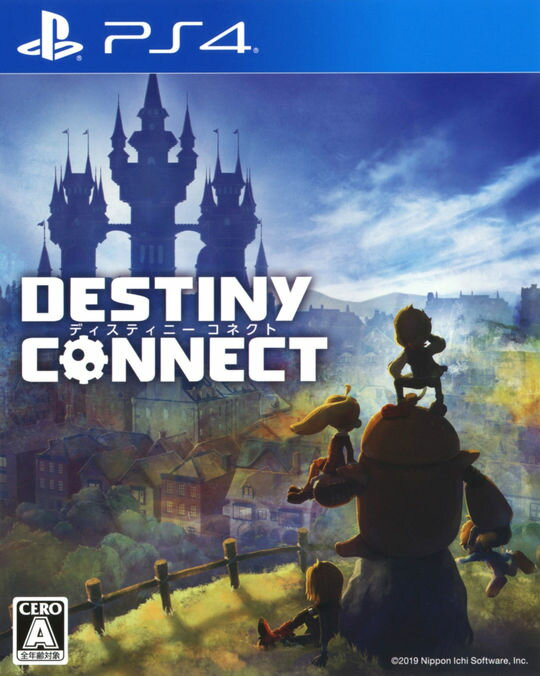 【中古】DESTINY CONNECTソフト:プレイステーション4ソフト/ロールプレイング・ゲーム