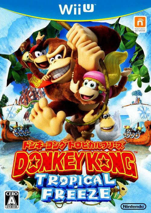 【中古】ドンキーコング トロピカルフリーズソフト:WiiUソフト/任天堂キャラクター・ゲーム