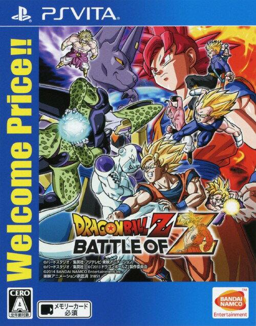 【中古】ドラゴンボールZ BATTLE OF Z Welcome Price!!ソフト:PSVitaソフト/マンガアニメ・ゲーム