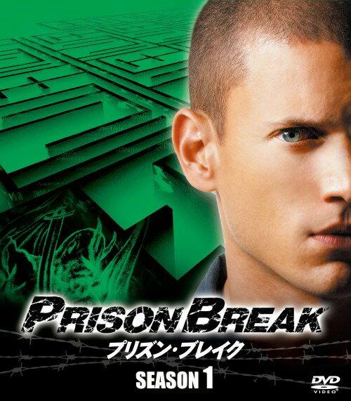 【中古】TV】プリズン・ブレイク 1st コンパクト・BOX 【DVD】/ウェントワース・ミラー