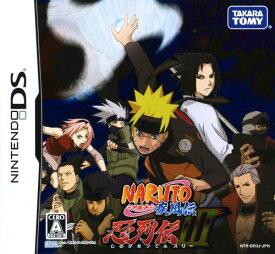 【中古】NARUTO−ナルト− 疾風伝 忍列伝3ソフト:ニンテンドーDSソフト/マンガアニメ・ゲーム