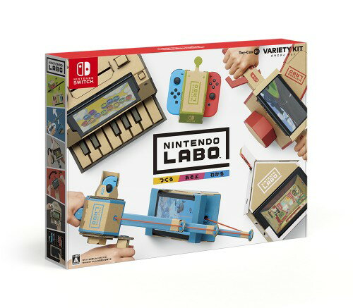 【SOY受賞】【中古】Nintendo Labo Toy−Con 01: Variety Kitソフト:ニンテンドーSwitchソフト/その他・ゲーム