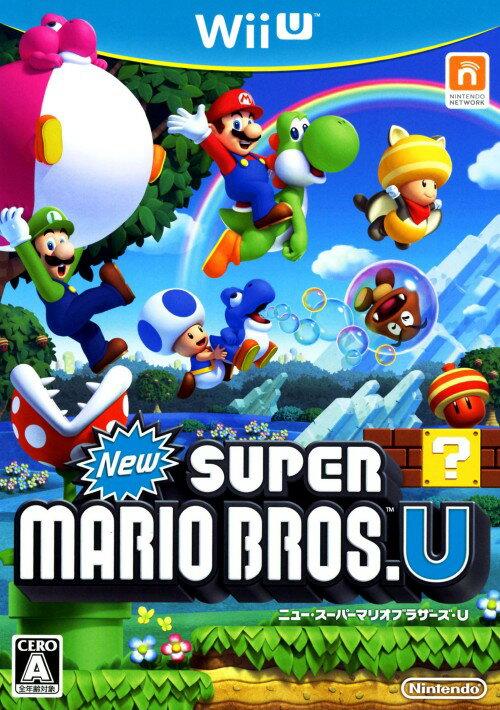 【中古】New スーパーマリオブラザーズUソフト:WiiUソフト/任天堂キャラクター・ゲーム