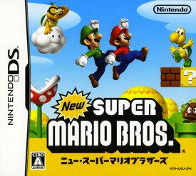 【中古】New スーパーマリオブラザーズソフト:ニンテンドーDSソフト/任天堂キャラクター・ゲーム