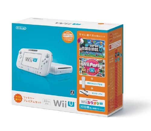 【中古・箱無・説明書有】Wii U すぐに遊べるファミリープレミアムセット (シロ) (同梱版)