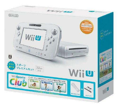 【中古】Wii U すぐに遊べる スポーツプレミアムセット (同梱版)