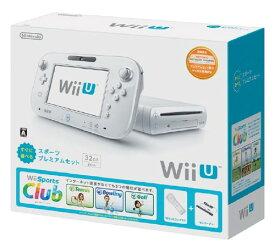 【中古・箱説なし・付属品なし・傷なし】Wii U すぐに遊べる スポーツプレミアムセット (同梱版)Wii U ゲーム機本体