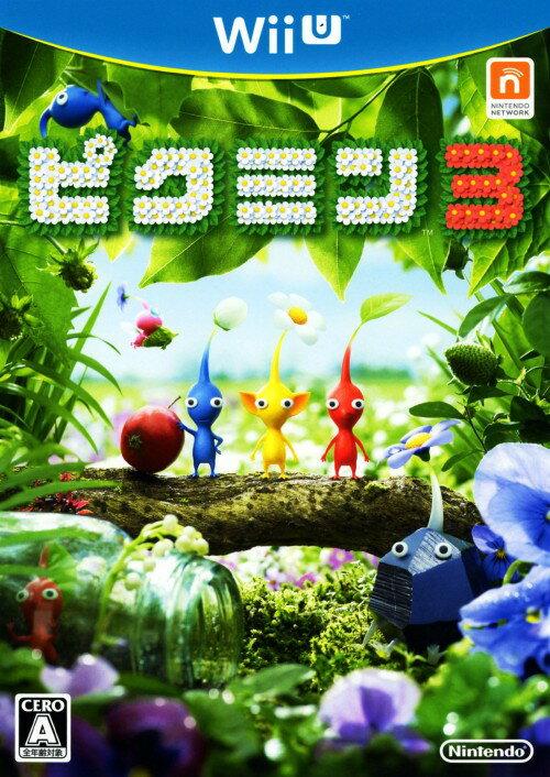 【中古】ピクミン3ソフト:WiiUソフト/任天堂キャラクター・ゲーム