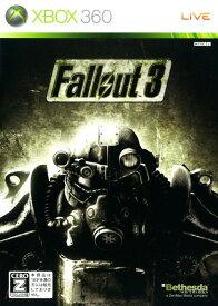 【中古】【18歳以上対象】Fallout3ソフト:Xbox360ソフト/ロールプレイング・ゲーム