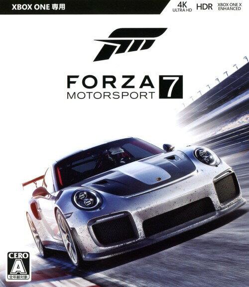 【中古】Forza Motorsport7ソフト:XboxOneソフト/スポーツ・ゲーム