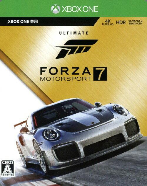 【中古】Forza Motorsport7 アルティメット エディション (限定版)ソフト:XboxOneソフト/スポーツ・ゲーム
