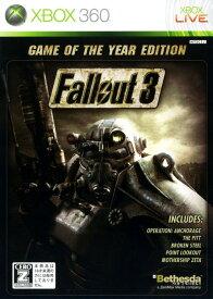 【中古】【18歳以上対象】Fallout3 Game of the Year Editionソフト:Xbox360ソフト/ロールプレイング・ゲーム