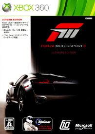【中古】Forza Motorsport3 ULTIMATE EDITIONソフト:Xbox360ソフト/スポーツ・ゲーム