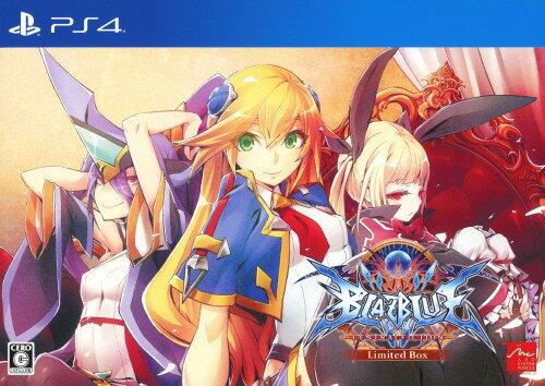 【中古】BLAZBLUE CENTRALFICTION Limited Box (限定版)ソフト:プレイステーション4ソフト/アクション・ゲーム
