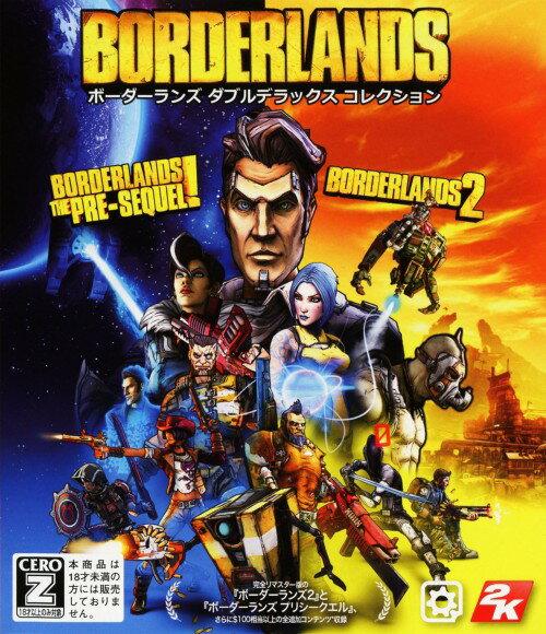【中古】【18歳以上対象】ボーダーランズ ダブルデラックス コレクションソフト:XboxOneソフト/ロールプレイング・ゲーム