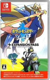 【中古】ポケットモンスター ソード + エキスパンションパスソフト:ニンテンドーSwitchソフト/任天堂キャラクター・ゲーム