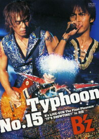 【中古】Typhoon 15 B'z LIVE-GYM The Final P… 【DVD】/B'zDVD/映像その他音楽