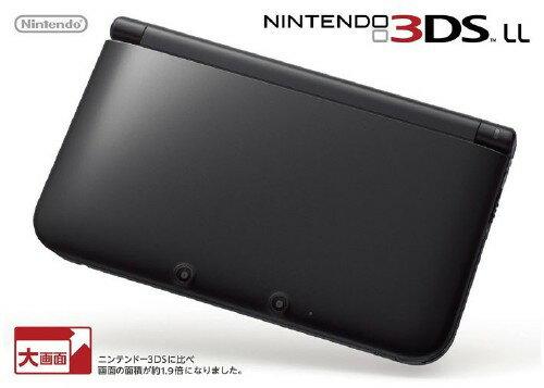 【中古】ニンテンドー3DS LL ブラック