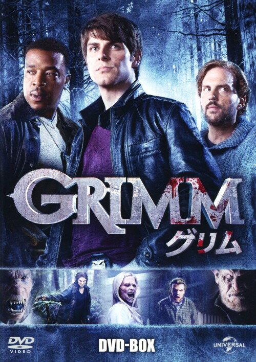 【中古】GRIMM/グリム BOX 【DVD】/デヴィッド・ジュントーリ
