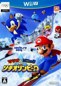 【中古】マリオ&ソニック AT ソチオリンピックソフト:WiiUソフト/任天堂キャラクター・ゲーム