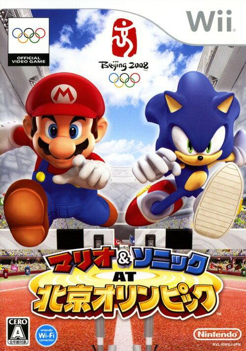 【SOY受賞】【中古】マリオ&ソニック AT 北京オリンピックソフト:Wiiソフト/任天堂キャラクター・ゲーム