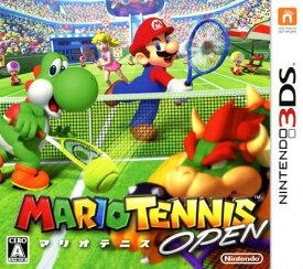 【中古】マリオテニス OPENソフト:ニンテンドー3DSソフト/任天堂キャラクター・ゲーム
