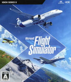 【中古】Microsoft Flight Simulator Standard Editionソフト:XboxSeriesXソフト/シミュレーション・ゲーム