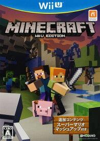 【中古】MINECRAFT: Wii U EDITIONソフト:WiiUソフト/シミュレーション・ゲーム