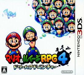 【中古】マリオ&ルイージRPG4 ドリームアドベンチャーソフト:ニンテンドー3DSソフト/任天堂キャラクター・ゲーム