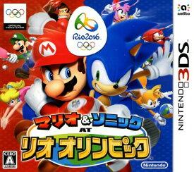 【中古】マリオ&ソニック AT リオオリンピックソフト:ニンテンドー3DSソフト/任天堂キャラクター・ゲーム