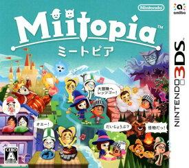 【中古】Miitopiaソフト:ニンテンドー3DSソフト/任天堂キャラクター・ゲーム