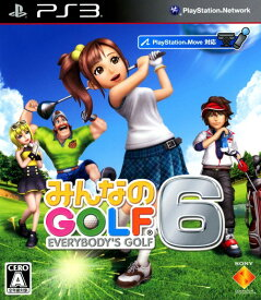 【中古】みんなのGOLF6ソフト:プレイステーション3ソフト/スポーツ・ゲーム