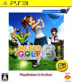 【中古】みんなのGOLF6 PlayStation3 the Bestソフト:プレイステーション3ソフト/スポーツ・ゲーム
