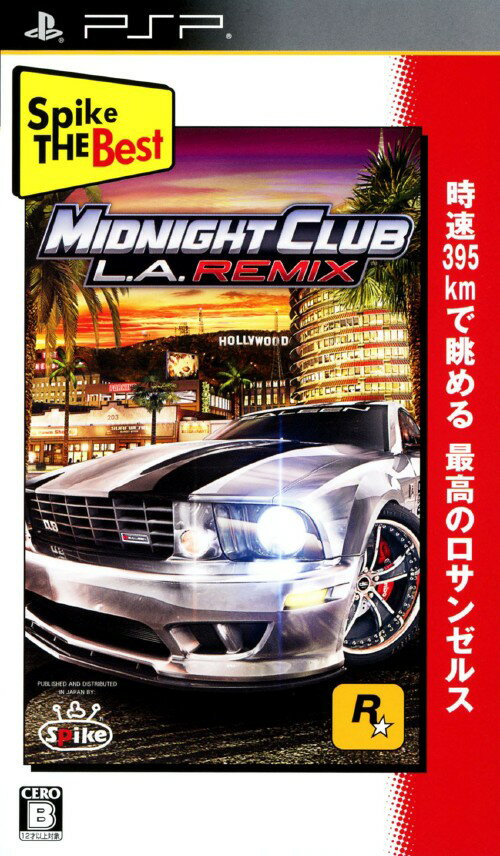 【中古】Midnight Club:L.A. Remix Spike The Bestソフト:PSPソフト/スポーツ・ゲーム