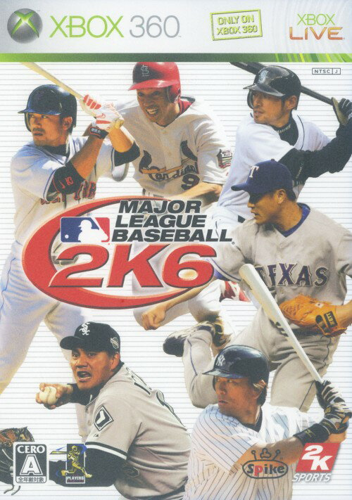 【中古】MAJOR LEAGUE BASEBALL 2K6